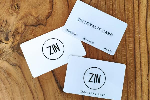ZIN Loyality Cards